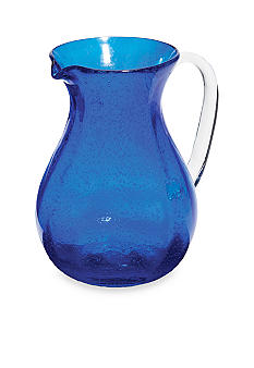 Home Accents Bubble Glass Pitcher