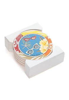 Home Accents Fun in the Sun Coasters
