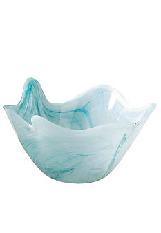 Home Accents Small Blue Scallop Bowl - Online Only
