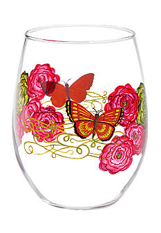 Home Accents Botanica Stemless Glass - Online Only