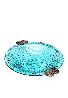 Home Accents Blue Bubble Large Bowl