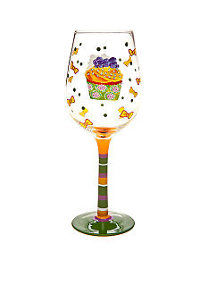 Home Accents Happy Birthday Wine Glass