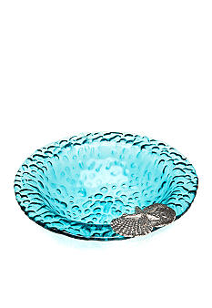 Home Accents Blue Bubble Small Bowl
