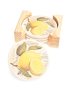 Home Accents Lemon Coasters