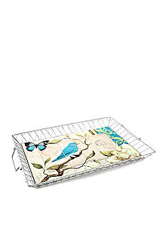 Home Accents Blue Bird Large Serving Tray