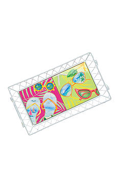 Home Accents Fun in the Sun Ceramic Serving Tray