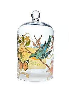 Home Accents Bird Glass Cloche