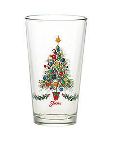 Fiesta Christmas Tree Cooler Glass 16-oz.