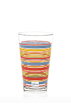 Fiesta Striped Cooler Glass