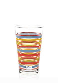 Fiesta Striped Cooler Glass