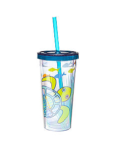J Khaki Turtle Kid's 10-oz. Tumbler