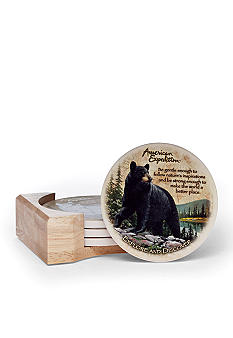 American Expedition Bear Coasters