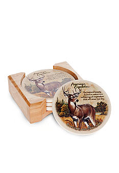American Expedition Deer Coasters