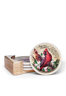 American Expedition Cardinal Coasters