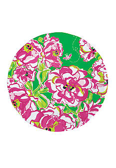 Lilly Pulitzer Melamine Set of 4 Plate Lucky Charms Green