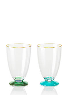 kate spade new york Blue and Green Acrylic Tumbler Set