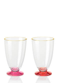 kate spade new york Pink and Red Acrylic Tumbler Set
