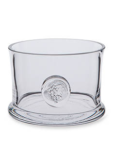Dartington Crystal Grape Wine Bottle Coaster