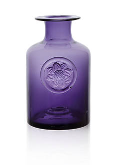 Dartington Crystal Amethyst Medium Flower Bottle