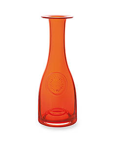 Dartington Crystal Orange/Gerbera Flower Bottle