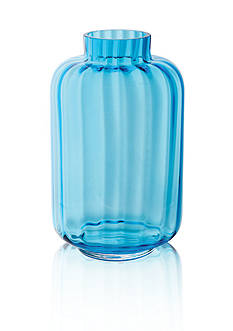 Dartington Crystal Little Gems Lantern Turquoise Vase