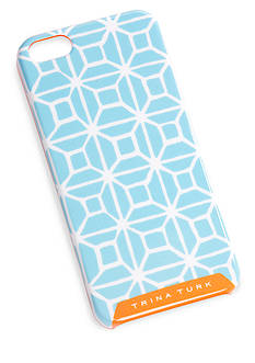 Trina Turk for M-Edge Trellis Blue iPhone 5 Case