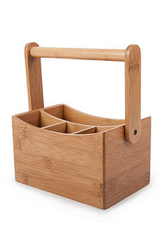 Cooks Tools™ Bamboo Cutlery Holder