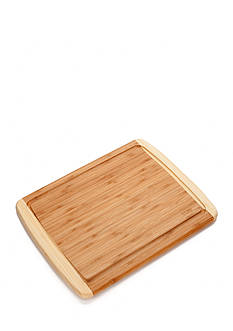 Cooks Tools™ Classic Two-Tone Bamboo Cutting Board
