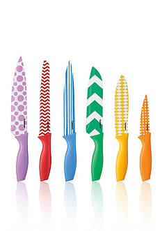 Cuisinart 12-Piece Printed Color Knife Set