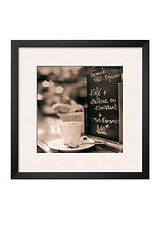 Art.com Café, Champs-Élysées, Framed Art Print - Online Only
