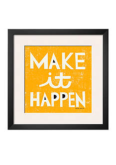 Art.com Make it Happen by Michael Mullan, Framed Art