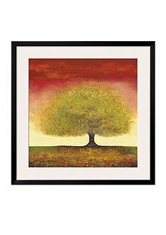 Art.com Dreaming Tree Red, Framed Art Print - Online Only