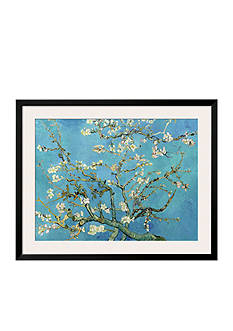 Art.com Almond Branches in Bloom, San Remy, c.1890, Framed Art Print