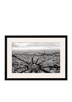 Art.com Paris, l'Etoile Vue du Ciel by Guillaume Plisson, Framed Art Print