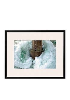Art.com Phares dans la Tempete, La Jument, Framed Art Print