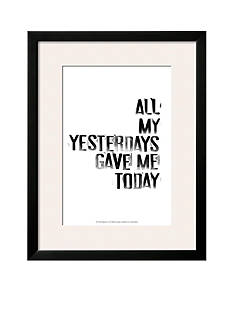Art.com The Happiest IV Framed Art Print