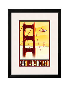 Art.com San Francisco by Steve Forney, Framed Art Print