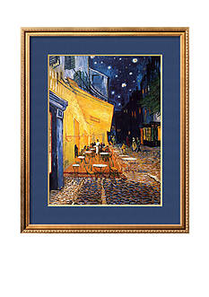 Art.com The Café Terrace on the Place du Forum, Arles, at Night, c.1888, Framed Art Print - Online Only