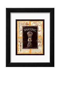 Art.com Grooming Shaving, Framed Art Print