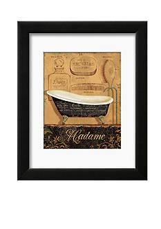 Art.com Bain de Madame, Framed Art Print