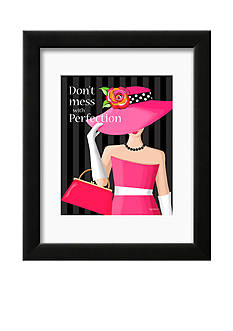 Art.com Don't Mess, Framed Art Print