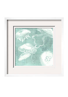 Art.com Spa Jellyfish VII by Grace Popp, Framed Giclee Print