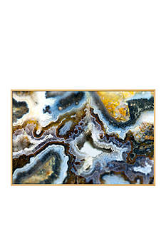 Art.com Gem Stone Agate by ELEN, Framed Art Print