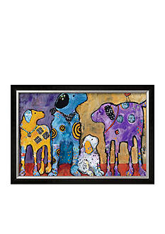 Art.com Cast of Characters by Jenny Foster, Framed Giclee Print