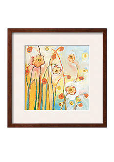 Art.com Orange Whimsy by Jennifer Lommers, Framed Art Print