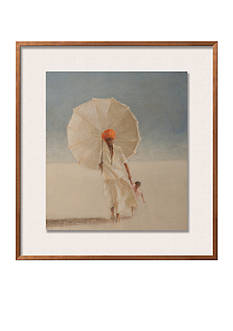 Art.com Man and Child I, 2010 by Lincoln Seligman, Framed Giclee Print