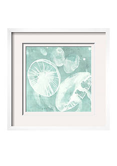 Art.com Spa Jellyfish V by Grace Popp, Framed Giclee Print