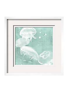 Art.com Spa Jellyfish III by Grace Popp, Framed Giclee Print