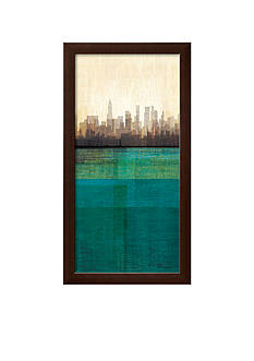 Art.com Metropolitan Jewel-Box, Emerald Framed Art Print - Online Only