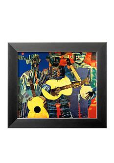 Art.com Three Folk Musicians, 1967, Framed Art Print - Online Only